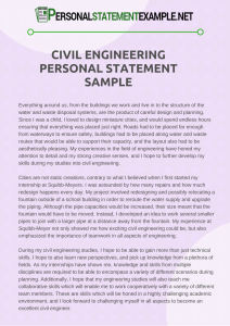 remarkable-civil-engineering-personal-statement-sample