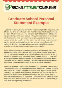 accurate-graduate-school-personal-statement-example